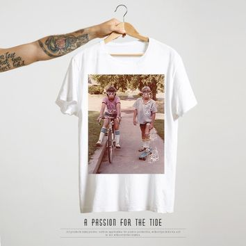 Men's Fashion Summer Men Short Sleeve Cotton Hip-hop T-shirts [441386532893]