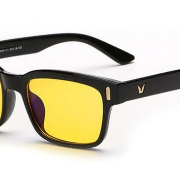 Protect Your Eyes Anti-Fatigue UV Blocking Blue Light Filter Stop Eye Strain Protection Gaming Glasses