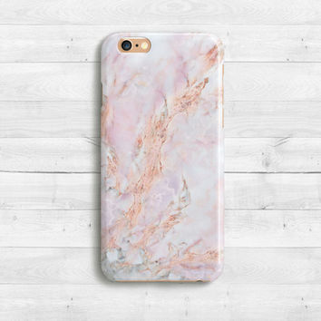 Light Rose Case Marble iPhone 7 Case, iPhone SE, Rose iPhone 7 plus case, iPhone 5c , Samaung Galaxy S6, S7 Pink White Marble Case iPhone 6s