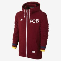 Check it out. I found this FC Barcelona Covert Full-Zip Men's Hoodie at Nike online.