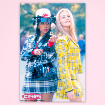 "Clueless Poster, ""Dramatic Relationship"", Cher Clueless, Officially Licensed, Movie Poster"