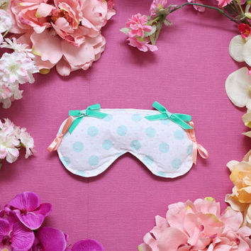 DREA 2 / Cotton satin sleep mask / Ready to ship
