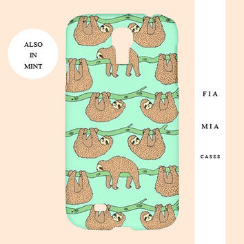 Sloth iphone case,sloth,funny,cute,kawaii,iphone case,samsung case,iphone case,5c,samsung,iphone,s4,5s,cover,5,iphone 6,pattern,animal,case