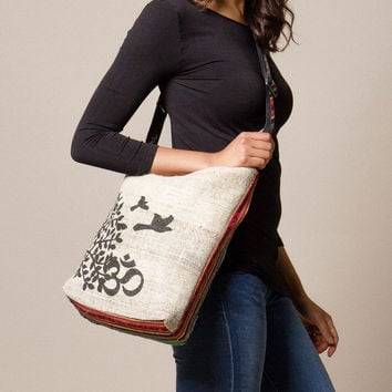 Free Spirit Om Hemp Bag