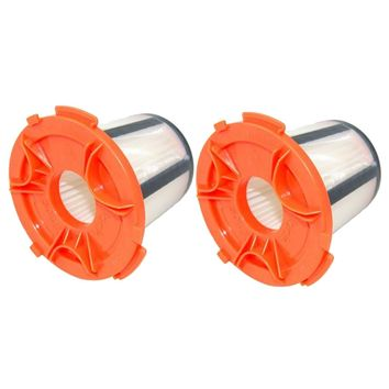 2 Pack Felji H12 DCF-24 Vacuum Dust Cup Filters for Eureka 955A Compact Canister Vacuum Cleaner Part # 68950