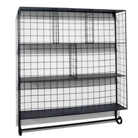 Metal Wall Organizer, Wall Shelving & Brackets