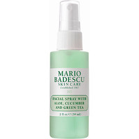 Travel Size Facial Spray with Aloe, Cucumber and Green Tea