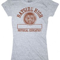Saved By the Bell Bayside High Physical Education Juniors Tee - Saved by the Bell - | TV Store Online