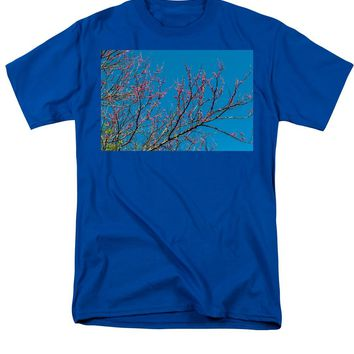 Tennessee Red Bud - Men's T-Shirt  (Regular Fit)