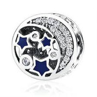 Pandora Charms Authentic Vintage Nightsky Openworks Charm Bead Stocking Stuffer
