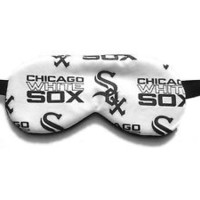 Sleep Mask Chicago White Sox Blindfold Boy Kid Man Woman Eye Shade Sleepwear MLB