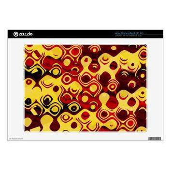 Abstract Fire Skin For Acer Chromebook from Zazzle.com