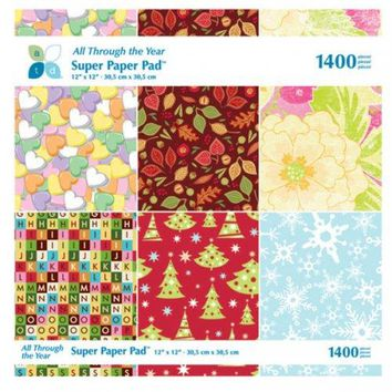 All Through The Year Super Craft Paper Pad