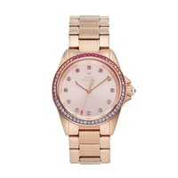Juicy Couture Women's Stella Rose Gold Tone Stainless Steel Watch