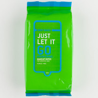 Body Raves Just Let It Go 25 Piece Makeup Wipes Green One Size For Women 25879550001