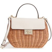 kate spade new york bloom street - justina wicker satchel | Nordstrom