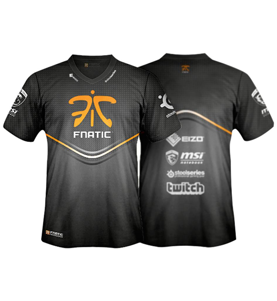 Player t shirt 2013 14 fnatic world 39 s from fnatic for What is a sport shirt