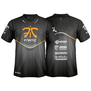 Player T-Shirt 2013-14 | Fnatic - World's number 1 eSports and professional gaming team