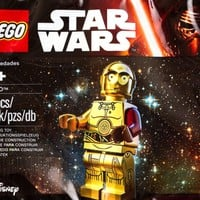 Lego Star Wars C3PO with Red Arm Minifigure 5002948