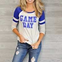 * Game Day Top : Blue