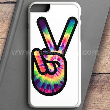 Hippie Peace Sign iPhone 6 Plus Case | casefantasy