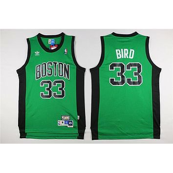 Classic NBA Basketball Jerseys Boston Celtics #33 Larry Bird