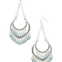 Wanderlust Tiered Bead Earrings | Wet Seal