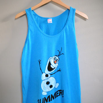 FROZEN - Olaf Summer Tank Top (XS-XL)