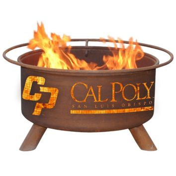 Cal Poly San Luis Obispo Steel Fire Pit by Patina Products