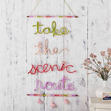 Take the Scenic Route Macrame