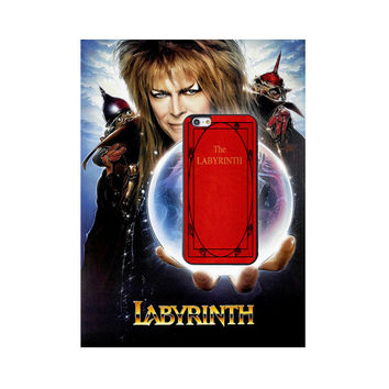 The Labrynith, Custom Phone Case for iPhone 4/4s, 5/5s, 6/6s, 6/6s+ and iPod Touch 5, Classis Book