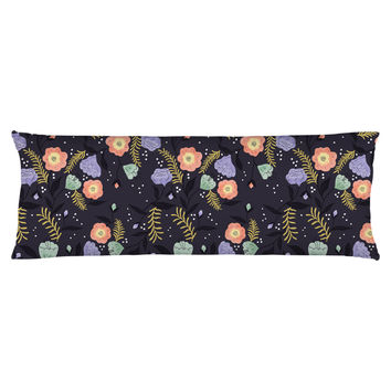 Moon Flowers Body Pillow