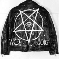No Gods Leather Jacket