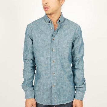 Drapeau Noir | Chambray Kuroki Shirt - Antic Boutik