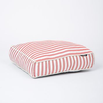 Stripey Soiree Square Dog Bed