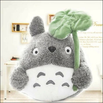 1pcs 20cm Cute Cartoon Plush Toy Totoro Stuffed Animal Soft Doll Girl's Gift Kids Toy Popular Toy Free Shipping