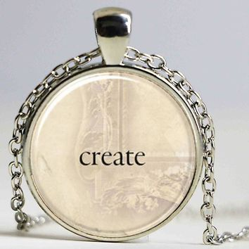 1pcs/lot New Create Logo Necklace Pendant Custom Word Personalized Text Necklace Jewelry Handmade Resin Vintage Necklace
