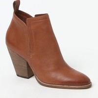 Dolce Vita Hastings Leather Booties - Womens Boots - Red