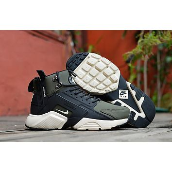 Acronym City MID Leather black/green Size 40-45