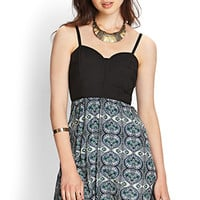 Tribal Print Cami Dress
