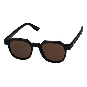 Le Specs Comic Club Matte Black Sunglasses
