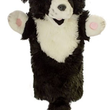 The Puppet Company - Long Sleeves - Border Collie Hand Puppet [Toy]