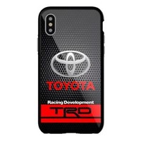 Toyota TRD Black Grill Logo iPhone Samsung 5 5s 6 6s 7 8 X Plus Edge Hard Case
