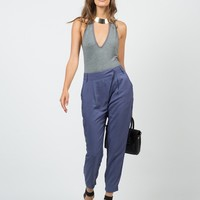 Mid Waisted Slouchy Pants