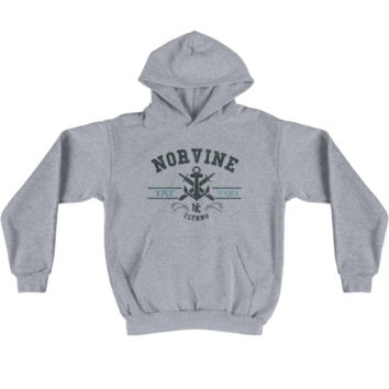 Norvine — Men's Tattoo Anchor Hoodie