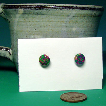 Stud EarringsPolymer Clay StudsHypoallergenic by BrandonArtists