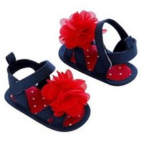Just One You™Made by Carter's® Newborn Girls' Sandals - Blue/Red NB