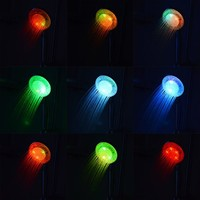 LightInTheBox Color Changing LED Chrome Finish Hand Shower - without Shower Holder