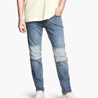H&M - Jeans Slim fit - Denim blue - Men