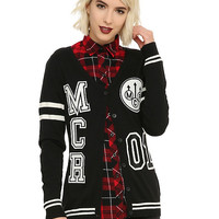 My Chemical Romance Girls Varsity Cardigan